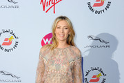 Maria Sharapova Beaded Dress
