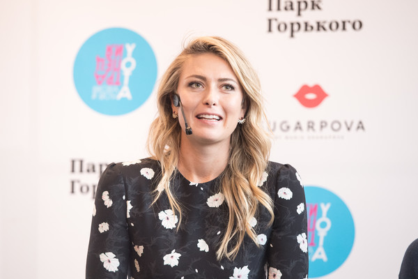 Maria Sharapova Long Wavy Cut