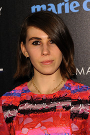 Zosia Mamet kept it basic with this short side-parted style at the 'Divergent' screening in NYC.