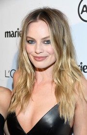 Margot Robbie attended Marie Claire's Image Maker Awards looking edgy with her messy waves.