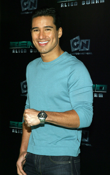Mario Lopez Titanium Chronograph Watch