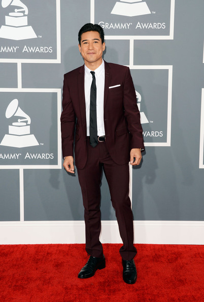 Mario Lopez Men's Suit