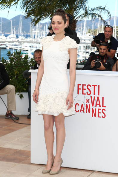 Marion Cotillard Day Dress