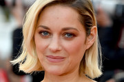 Marion Cotillard Short Side Part