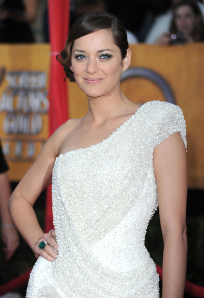 Marion Cotillard Pinned Up Ringlets
