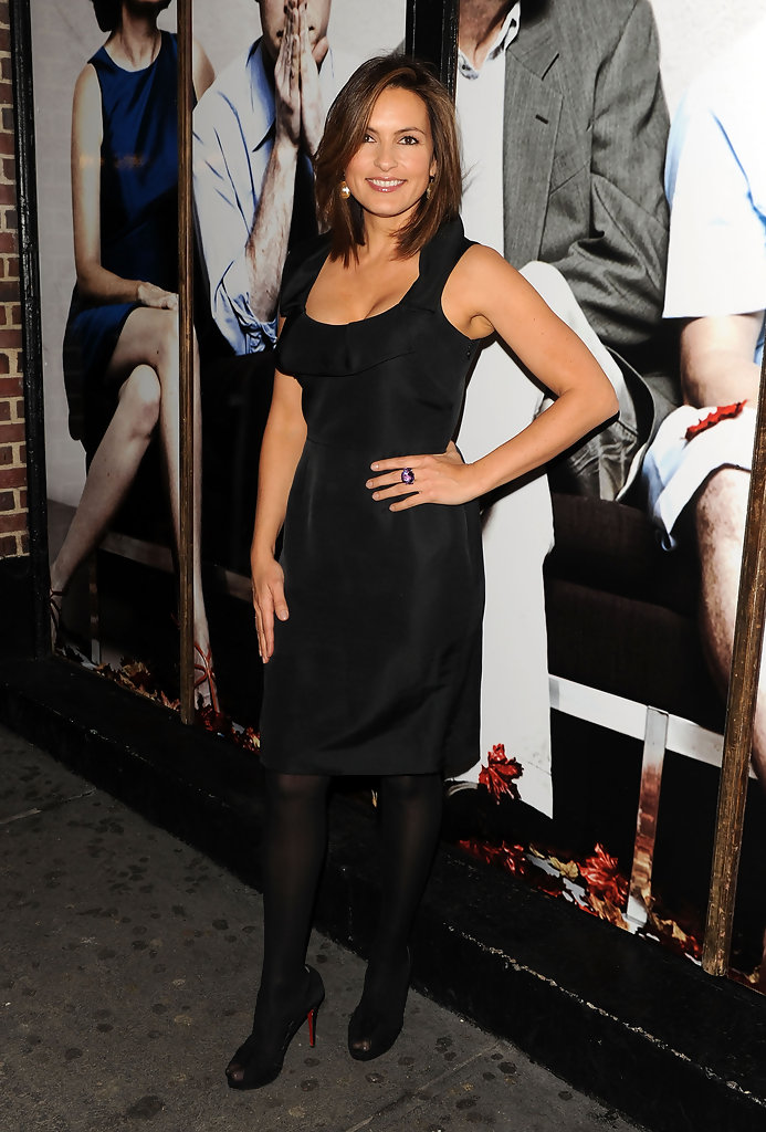 Mariska Hargitay Little Black Dress Mariska Hargitay