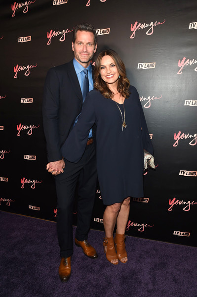 Mariska Hargitay Long-Sleeved Shift Dress
