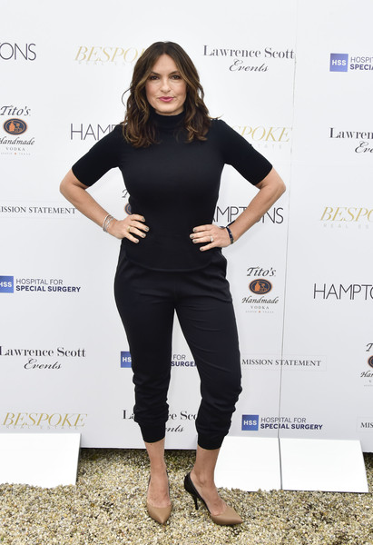 Mariska Hargitay Sports Pants
