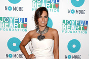 Mariska Hargitay Strapless Dress