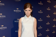 Actress Kate Mara arrives at The Paramour Mansion to celebrate the launch of Martell Caractère, Martell's newest cognac expression on October 10, 2013 in Los Angeles, California.