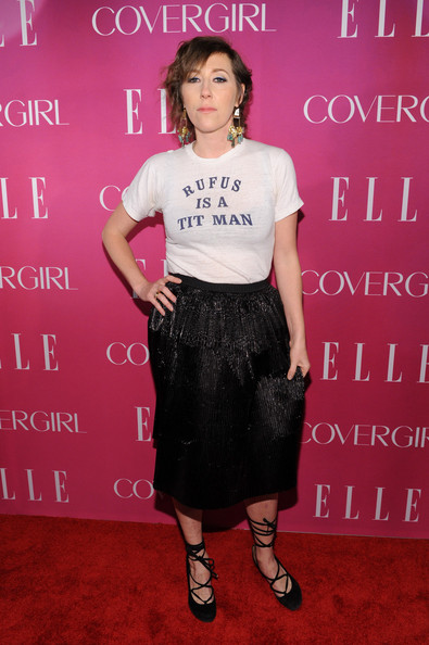 Martha Wainwright Knee Length Skirt