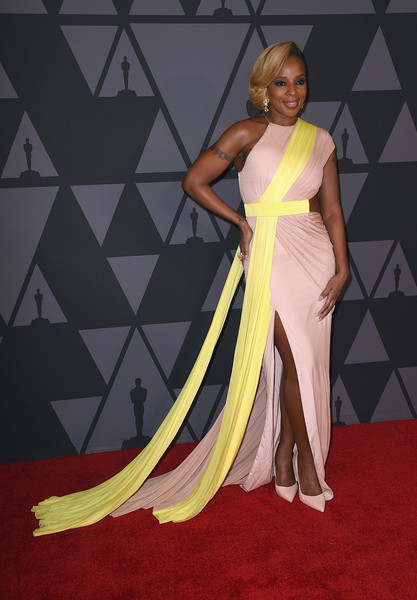 Mary J. Blige Cutout Dress
