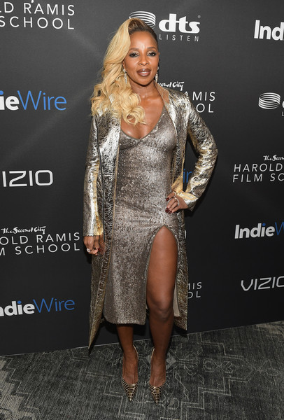 Mary J. Blige Sequin Dress