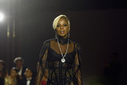 Mary J. Blige Sheer Dress