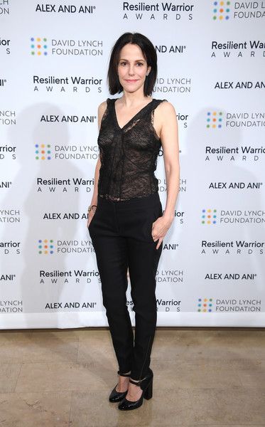 Mary-Louise Parker Skinny Pants [david lynch foundation hosts ``change begins within: healing the hidden wounds of war,change begins within: healing the hidden wounds of war,clothing,shoulder,fashion,fashion design,fashion model,dress,long hair,style,jeans,mary-louise parker,conversation,the plaza hotel,new york city,david lynch foundation]