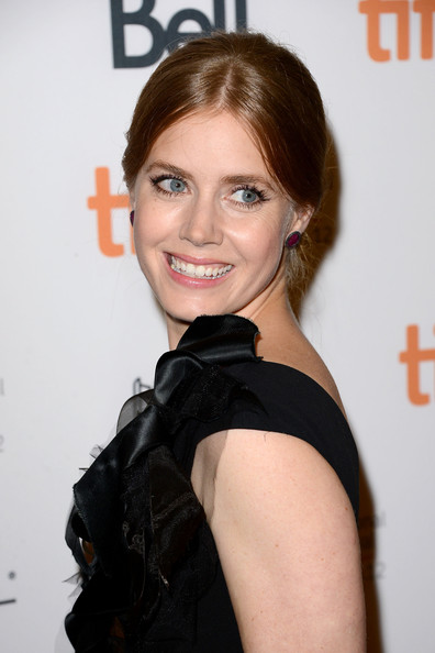 More Pics of Amy Adams Bobby Pinned Updo (1 of 25) - Amy Adams Lookbook - StyleBistro