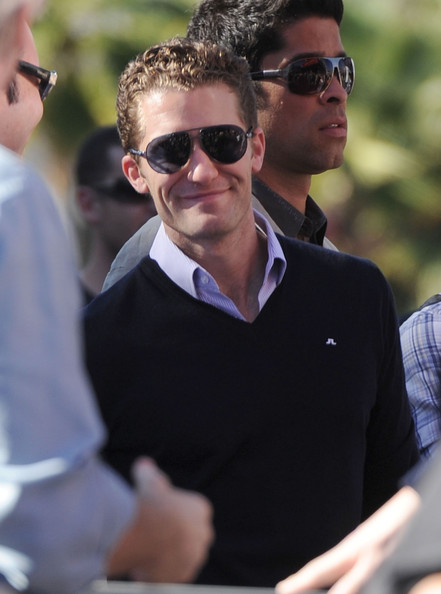 Matthew Morrison Aviator Sunglasses
