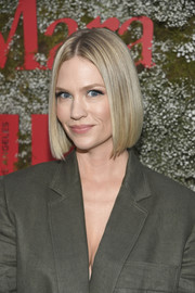 January Jones gave us hair envy with her sleek bob at the InStyle Max Mara Women in Film celebration.