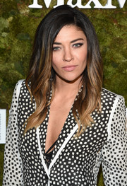 Jessica Szohr looked cool and trendy with her ombre waves at the Women in Film Face of the Future Award.