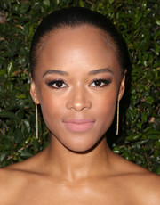Serayah McNeill attended the Max Mara Face of the Future event rocking a Croydon facelift.