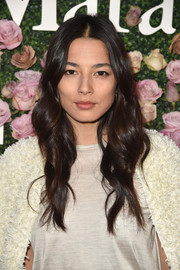 Jessica Gomes looked oh-so-pretty with her bouncy waves at the 2017 Face of the Future event.