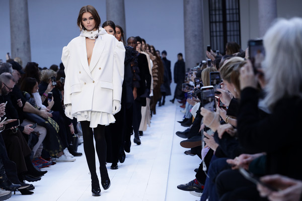 More Pics of Kaia Gerber Tights (1 of 12) - Kaia Gerber Lookbook - StyleBistro [fashion,runway,fashion model,fur,fur clothing,fashion show,haute couture,event,street fashion,fashion design,models,max mara - runway,kaia gerber,part,runway,milan,italy,max mara,milan fashion week,fashion show,kaia jordan gerber,runway,fashion,fashion show,model,milan fashion week fall / winter 2020,fashion week,milan fashion week 2020,max mara]