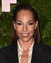 Amanda Brugel opted for a simple straight cut when she attended the Max Mara WIF Face of the Future event.
