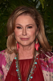 Kathy Hilton wore a stylish shoulder-length 'do with side-swept bangs at the Max Mara WIF Face of the Future event.