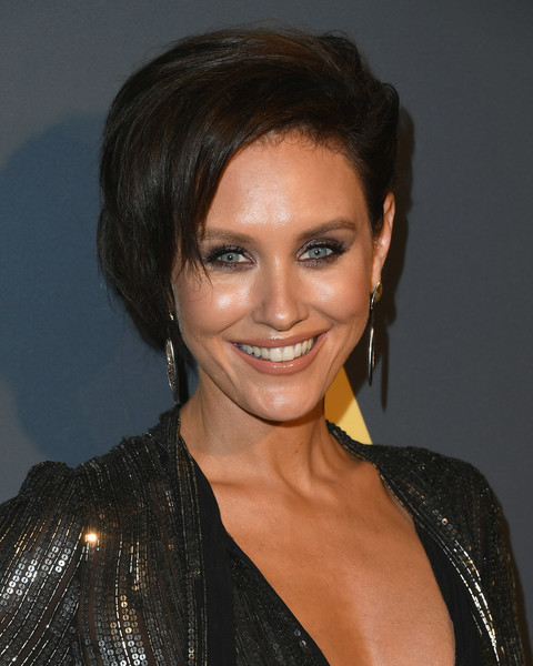 More Pics of Nicky Whelan Bob (4 of 6) - Nicky Whelan Lookbook - StyleBistro [the maxim hot 100,hair,face,hairstyle,eyebrow,beauty,chin,forehead,black hair,smile,lip,arrivals,nicky whelan,experience,maxim hot 100,hollywood palladium,los angeles,california]