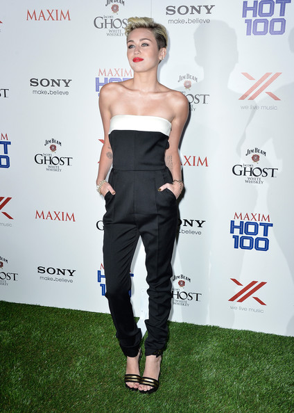 More Pics of Miley Cyrus Jumpsuit (5 of 31) - Jumpsuit Lookbook - StyleBistro