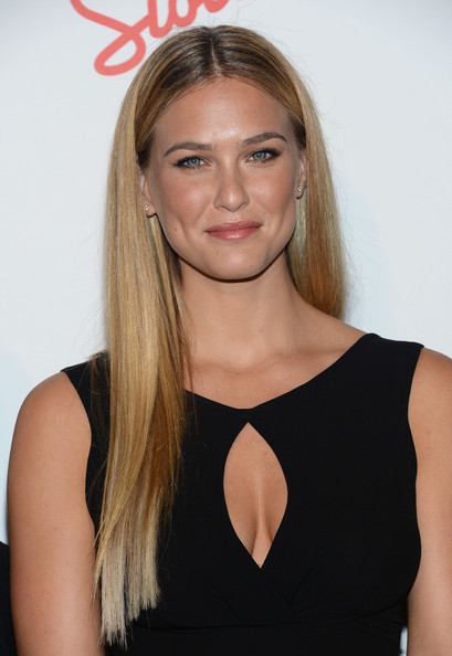 More Pics of Bar Refaeli Long Straight Cut (1 of 9) - Long Straight Cut Lookbook - StyleBistro