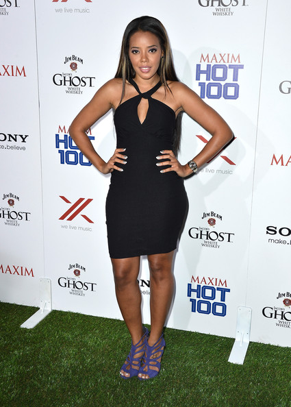 More Pics of Angela Simmons Long Straight Cut (1 of 4) - Angela Simmons Lookbook - StyleBistro