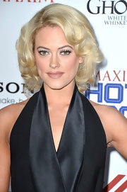 Peta's platinum locks looked almost Marilyn Monroe-inspired at the Maxim Hot 100 Party.