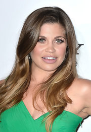 Danielle Fishel's nude lipstick gave her a fresh-faced glowing look at the Maxim Hot 100 Party.
