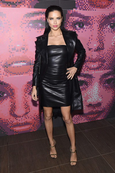 Adriana Lima at the Maybelline NYFW Welcome Party