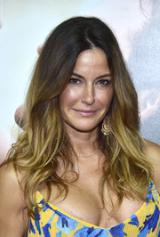 Kelly Bensimon rocked a sexy tousled hairstyle at the world premiere of 'Me Before You.'