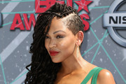 Meagan Good Long Braided Hairstyle