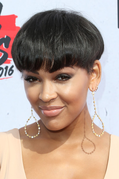 Meagan Good Bowl Cut