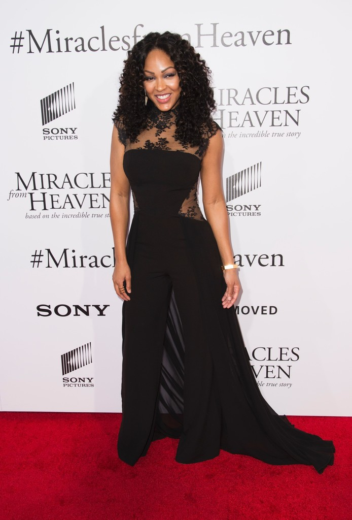 Meagan Good Jumpsuit Meagan Good Looks Stylebistro