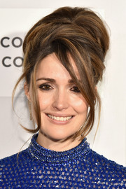Rose Byrne got into a '60s mood with this voluminous beehive for the Tribeca Film Fest premiere of 'The Meddler.'