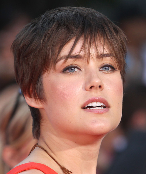 Megan Boone Pixie [step up revolution,hair,face,eyebrow,hairstyle,chin,lip,nose,skin,cheek,beauty,megan boone,grauman,california,hollywood,chinese theatre,summit entertainment,premiere of summit entertainment,premiere]