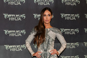 Megan Fox Beaded Dress