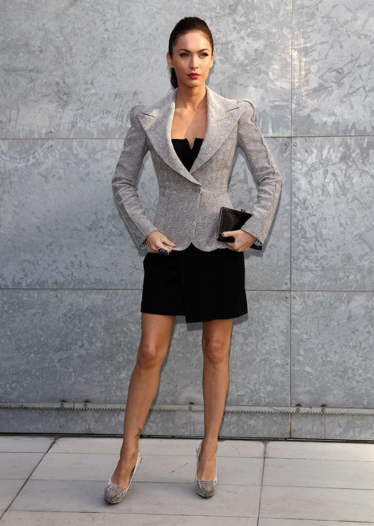 Megan Fox Blazer Megan Fox Outerwear Looks Stylebistro