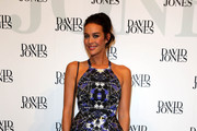 Megan Gale Print Dress