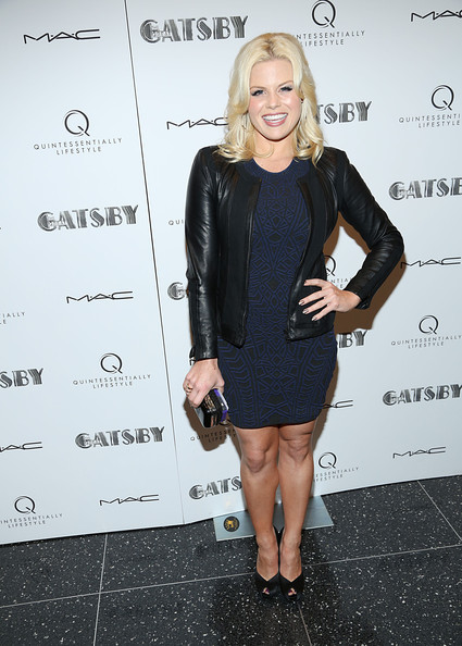 Megan Hilty Print Dress