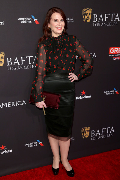 Megan Mullally Pencil Skirt