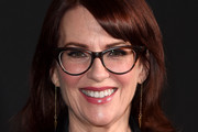 Megan Mullally Medium Wavy Cut with Bangs
