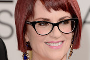 Megan Mullally Short cut with bangs