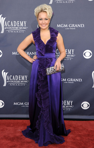 Meghan Linsey Evening Dress [flooring,gown,purple,dress,carpet,beauty,lady,shoulder,red carpet,fashion,arrivals,meghan linsey,academy of country music awards,red carpet,nevada,las vegas,mgm grand garden arena,steel magnolia]