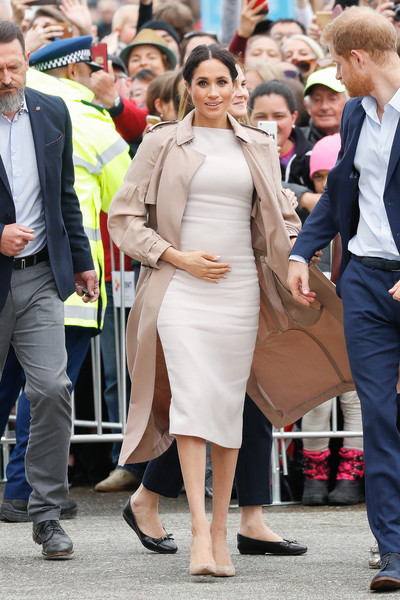 Meghan Markle Midi Dress